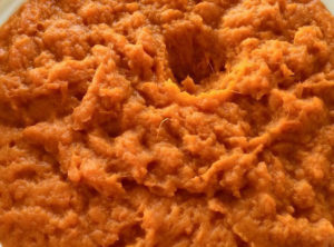 Organic Whipped Maple Coconut Sweet Potatoes