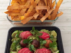 GF Oven Baked Organic Corn Tortilla Strips With Chile & Sea Salt – MFY Organic Chunky Guacamole