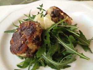 Organic Eggplant Croquettes