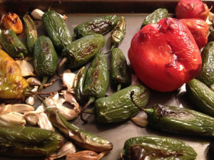 Organic Roasted Chile Salsa Ingredients