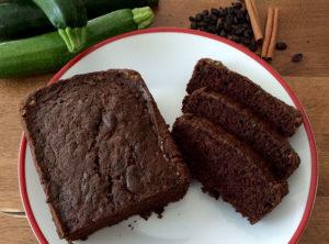 Organic Chocolate Zucchini Bread