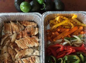 Organic Chicken Fajitas