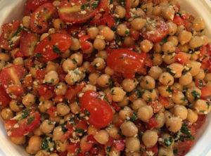 Italian Chickpea Salad Insalata Di Ceci