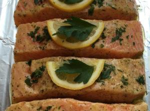 Lemon Dijon Salmon