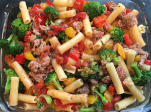 MFY Sausage and Peppers with Ziti