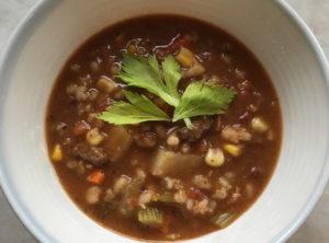 Organic Vegetable Beef Barley Soup