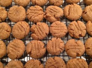 GF Organic Peanut Butter Cookie With Sugar Crust