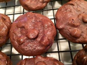GF Organic Chocolate Fudge Cookies