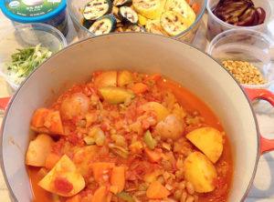 Moroccan Organic Vegetable Tagine