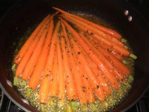 Organic Honey Glazed Carrots