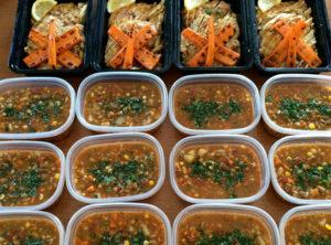 Organic Lemon-Marjoram Grilled Chicken Organic Vegetable Beef Barley Soup