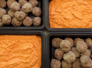 Paleo Pastured Lamb Meatballs With Organic Romesco Sauce