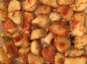 Crispy Roasted Duck Fat Potatoes