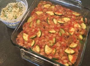 Organic Tomato White Bean Gratin with Persillade